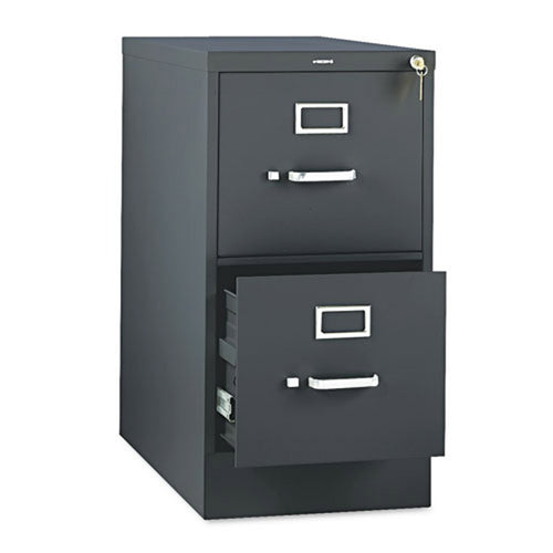 "Two-Drawer Vertical File, Letter, 26 1/2""d"