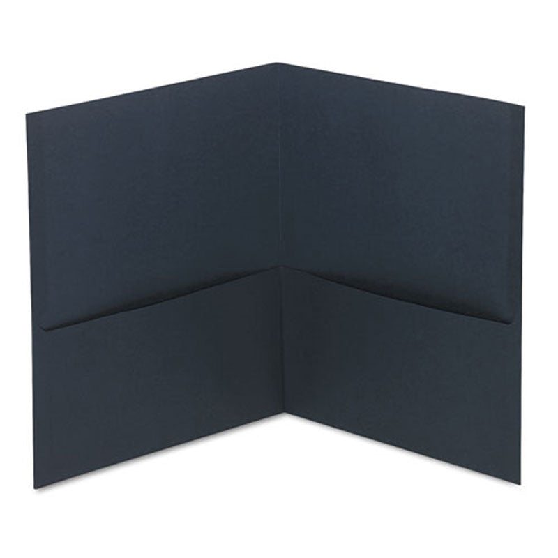 Economy Twin-Pocket Folders, Letter, Box of 25