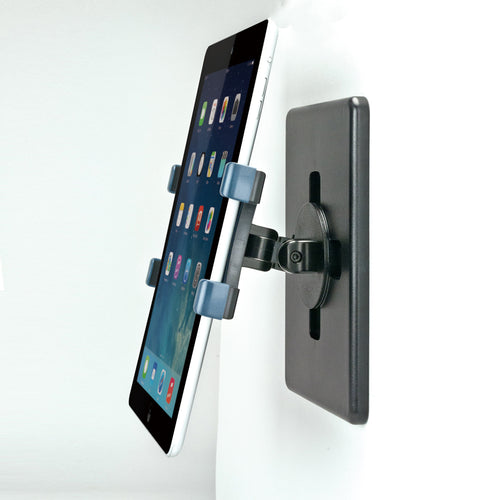 Universal Tablet Holder Arm w/Magnetic Wall Mount