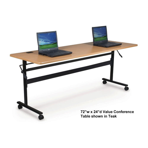 "Value Folding Conference Table, 72""w x 24""d"