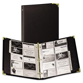 Vinyl Business Card Binder