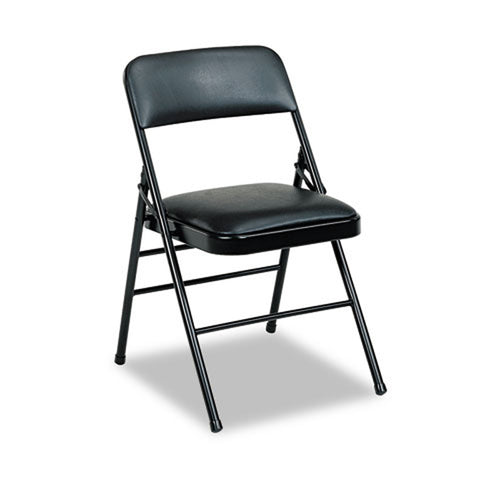 Vinyl Padded Folding Chair (set of 4 chairs)