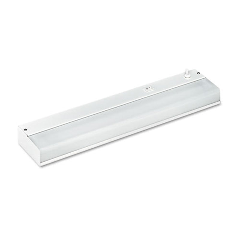 White Low-Profile Under-Cabinet Fluorescent Light Fixture  sc 1 st  Ultimate Office & White Low-Profile Under-Cab Fluorescent Light Fixture | Ultimate Office