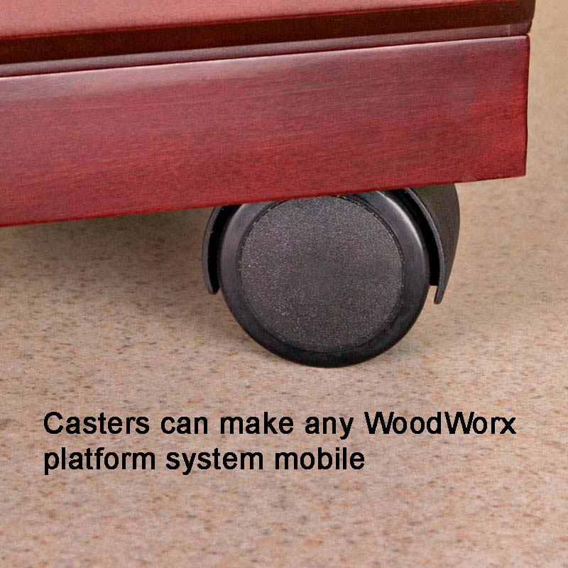 WoodWorx™ 1-Wide Trolley V
