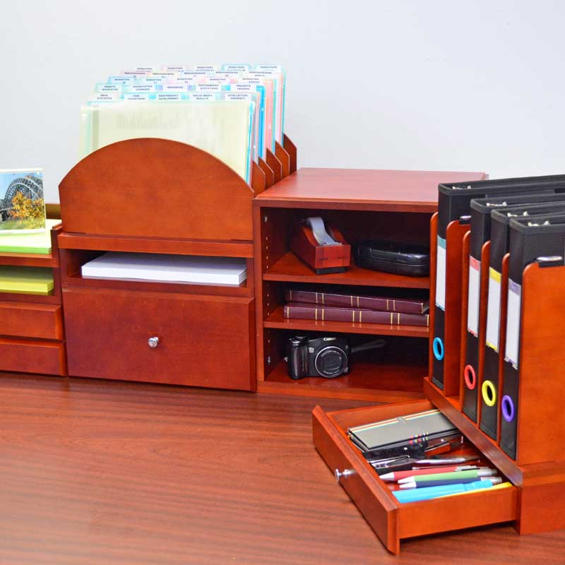 WoodWorx™ Supply/Media Drawer Combo I
