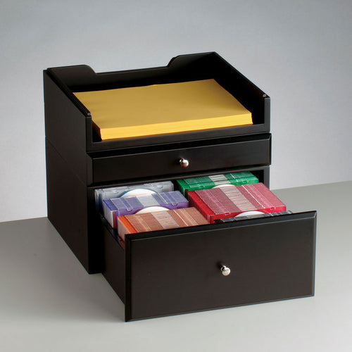 WoodWorx™ Supply/Media Drawer Combo IX