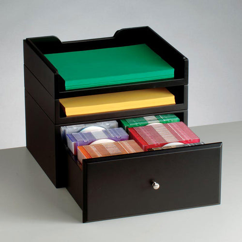 WoodWorx™ Supply/Media Drawer Combo X