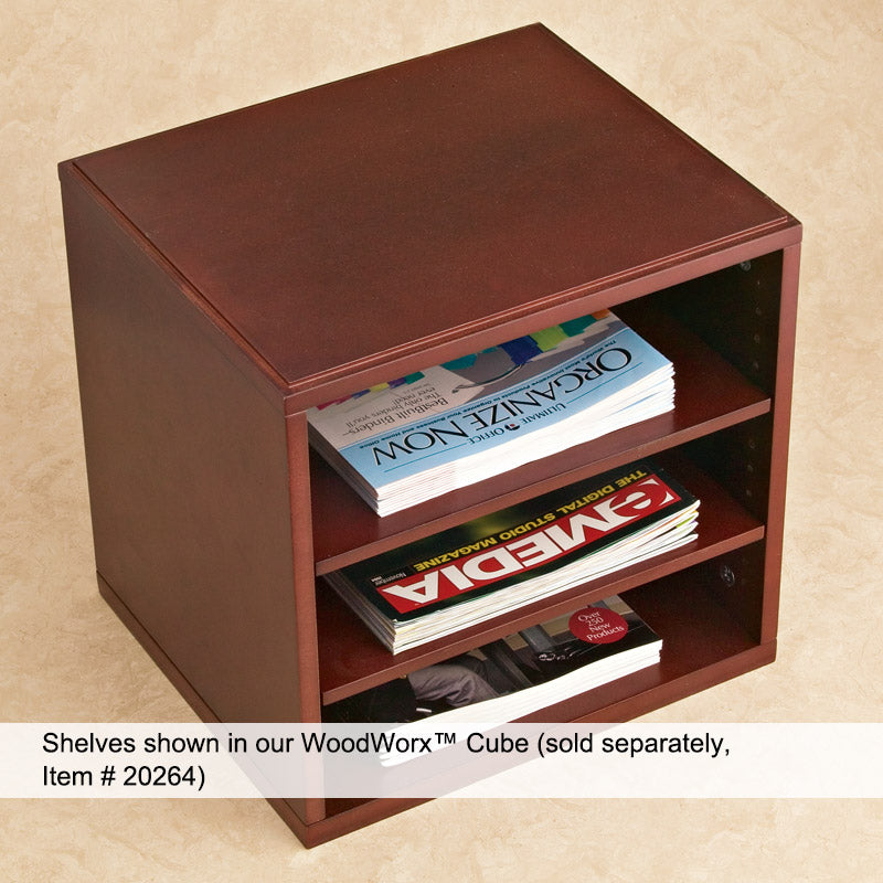 WoodWorx™ Shelves for Cube (set of 2)