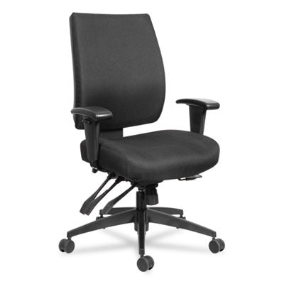"Wrigley 24/7 High Performance Multifunction Chair, 42 7/8""h, Black"