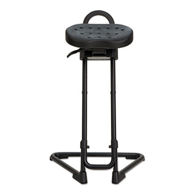 Adjustable Sit/Stand Stool, Black