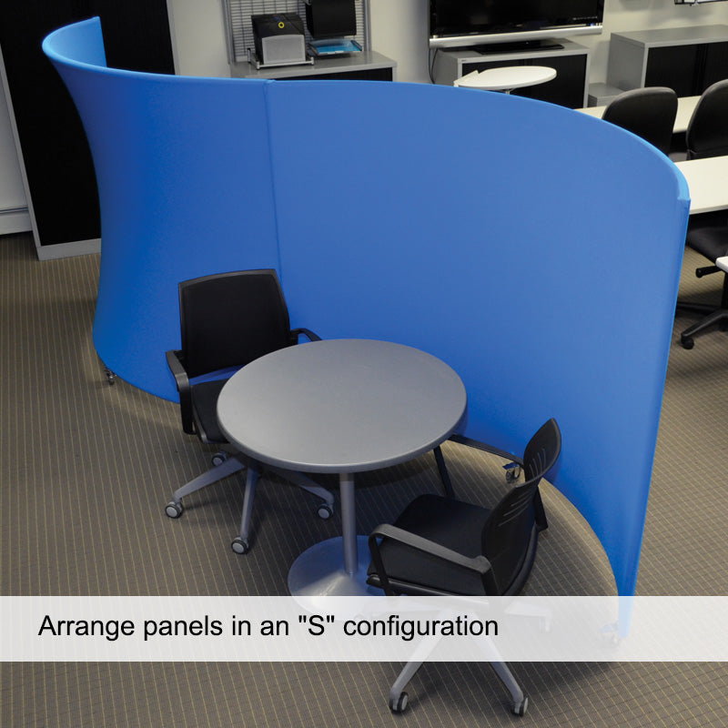Arc Fabric Mobile Partition