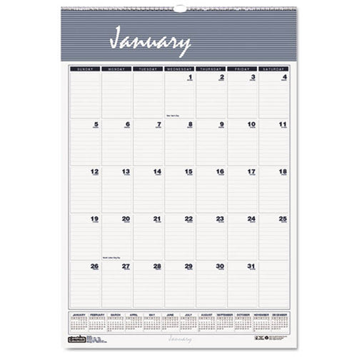 Bar Harbor Wirebound Monthly Wall Calendar, 2020