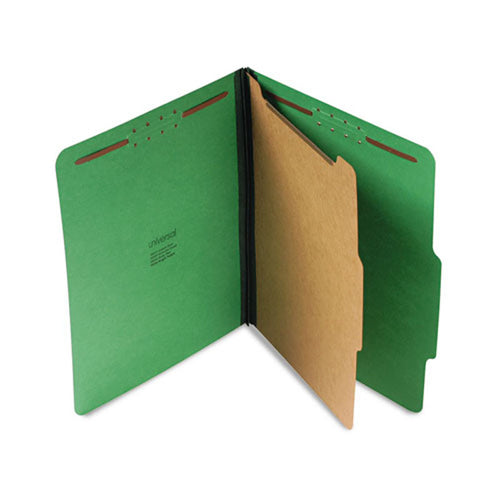 "Bright Colored Pressboard Classification Folders, 2"" Expansion (box of 10)"