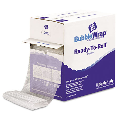 "Bubble Wrap, 1/2"" Thick, 12"" x 65' Roll"