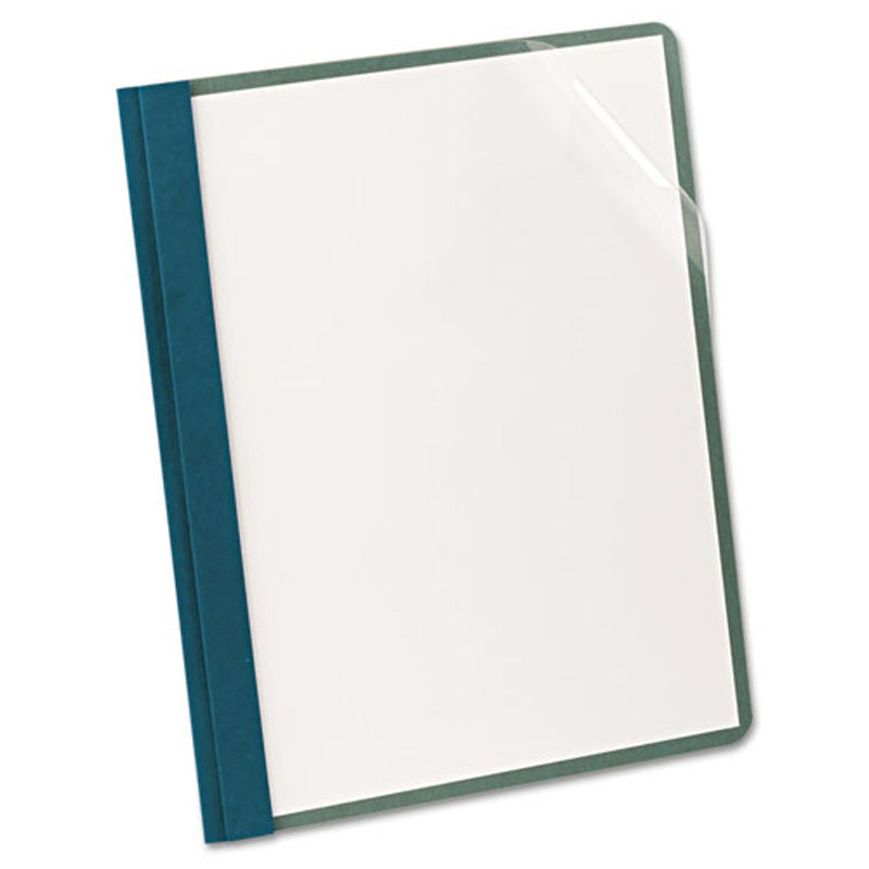 Clear Front Recycled Report Covers, Letter, Box of 25