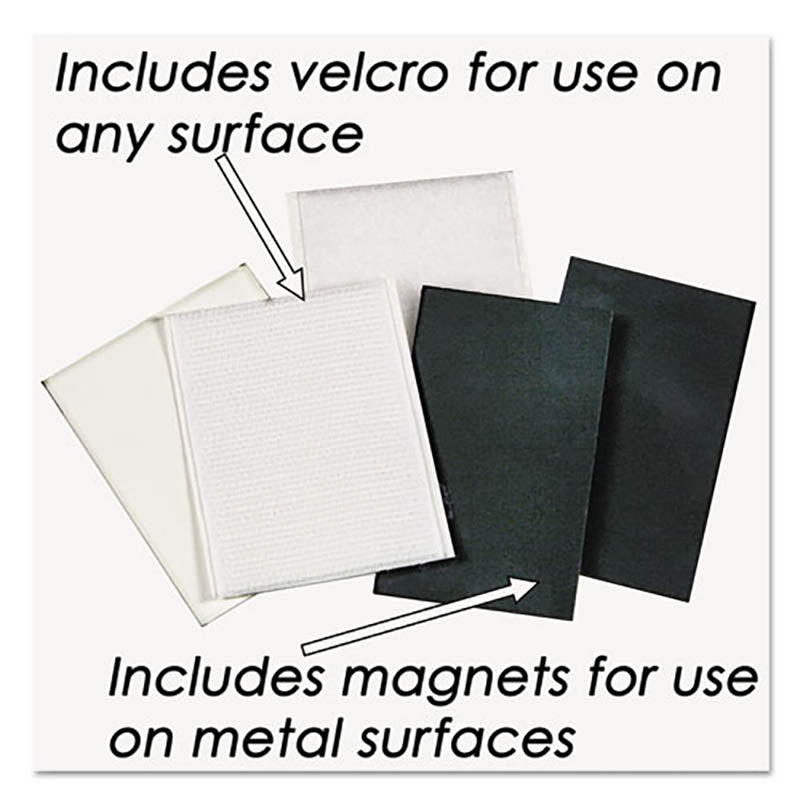"Clear Plastic Sign Holder, 8 1/2"" x 11"" (5 models)"