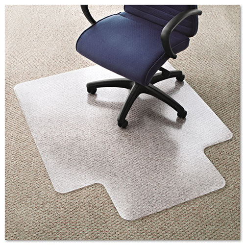 Cleated Chair Mat (for Low Pile Carpet) Clear