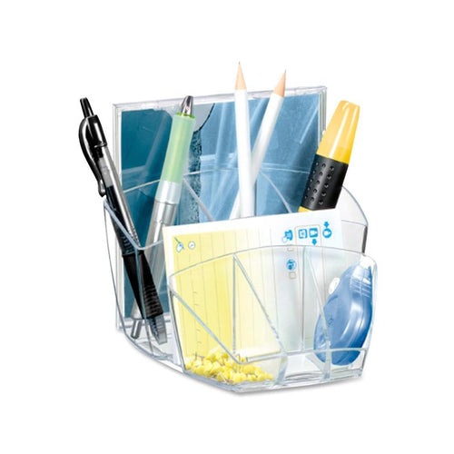 Color-Edge Acrylic 8-Compartment Organizer