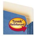 Colored Expanding File Pockets w/Tyvek