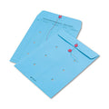 "Colored String & Button Interoffice Envelopes, 10"" x 13 (box of 100)"