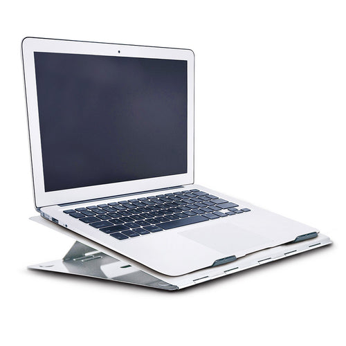 Compact Aluminum Laptop Stand w/ Neoprene Sleeve