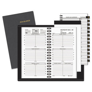 "Compact Weekly Appointment Book, 3 1/4"" X 6 1/4"", 2021"