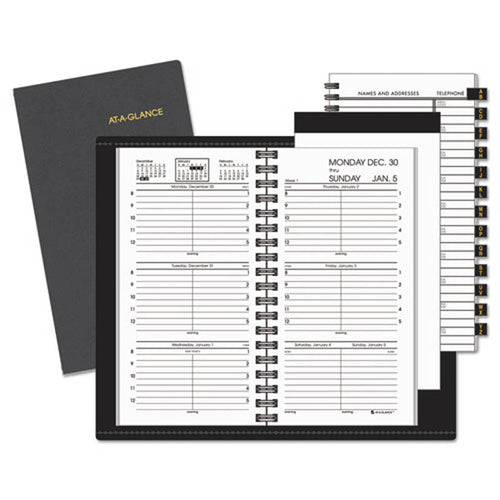 "Compact Weekly Appointment Book, 3 1/4"" X 6 1/4"", 2020"