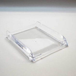 Contoured Acrylic Letter Tray