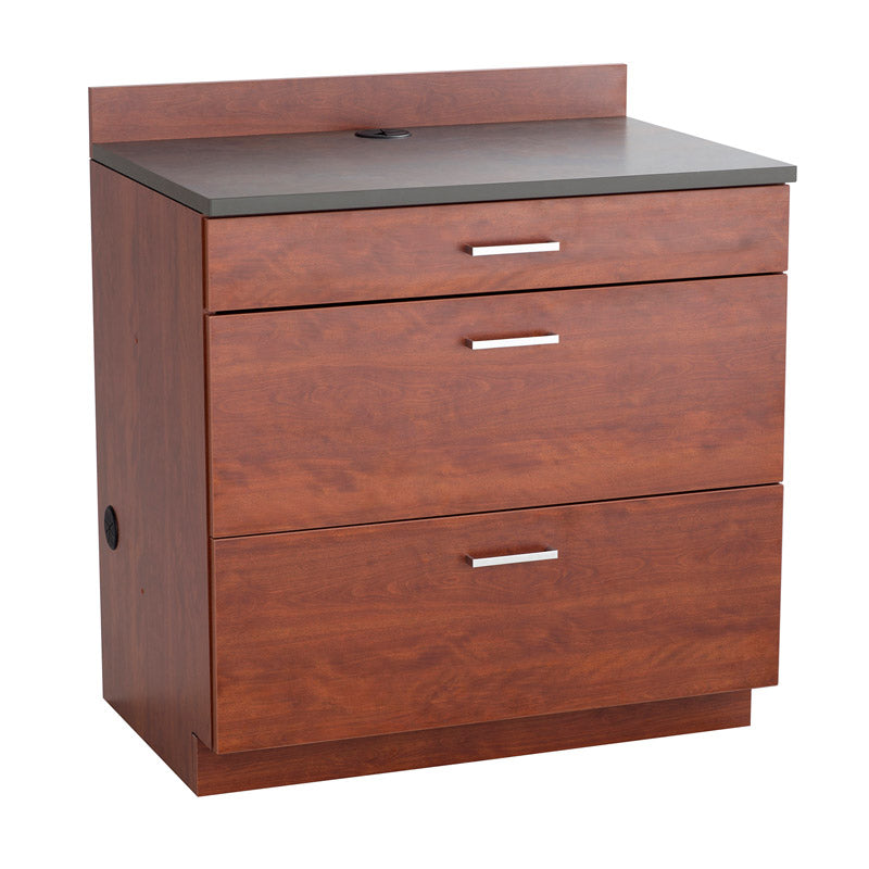Deluxe 3-Drawer Base Cabinet