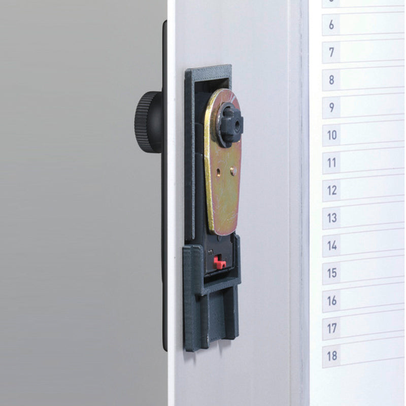 54-Key Deluxe Key Vault with Combination Lock and Drop Slot Key Return