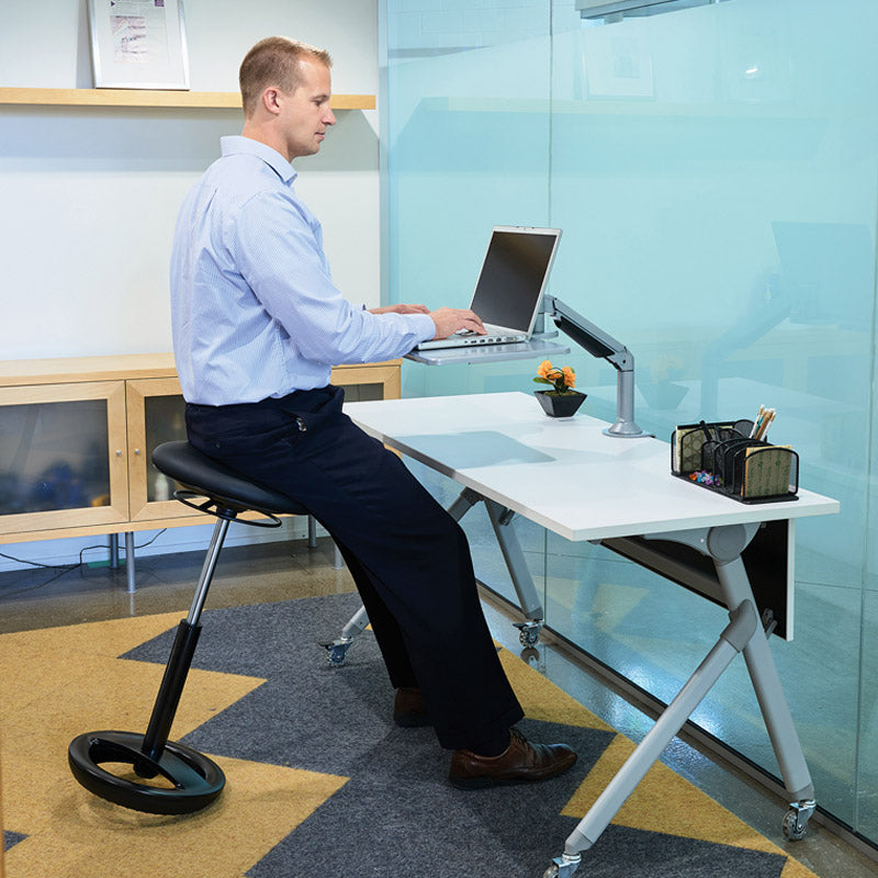 Desktop Sit/Stand Laptop Workstation