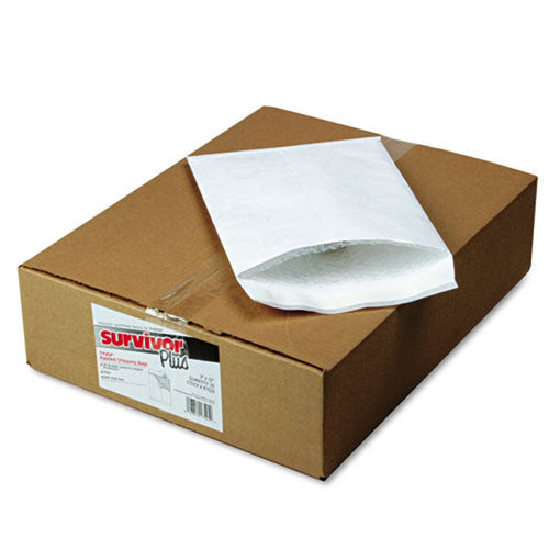 Dupont Tyvek Self-Seal Bubble Mailers, White (box of 25)