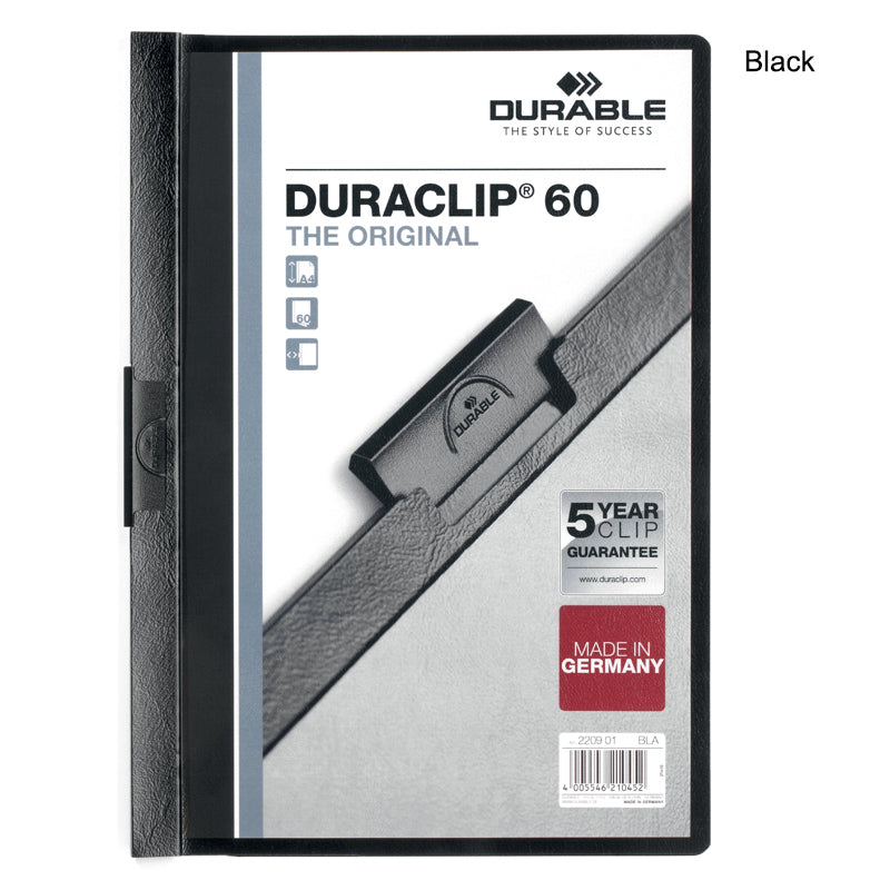 duraclip report covers box of 25 ultimate office