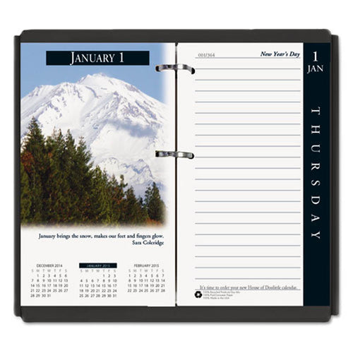 "Earthscapes Daily Calendar Refill, 3 1/2"" X 6"", 2020"