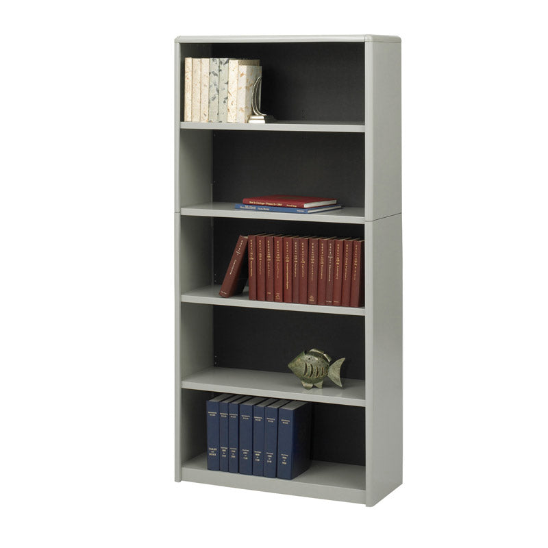 "5-Shelf Economy Bookcase, 31 3/4""W x 67""H x 13 1/2""D"