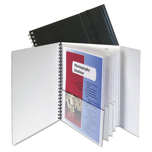 Eight-Pocket Project Folder w/ Security Flap