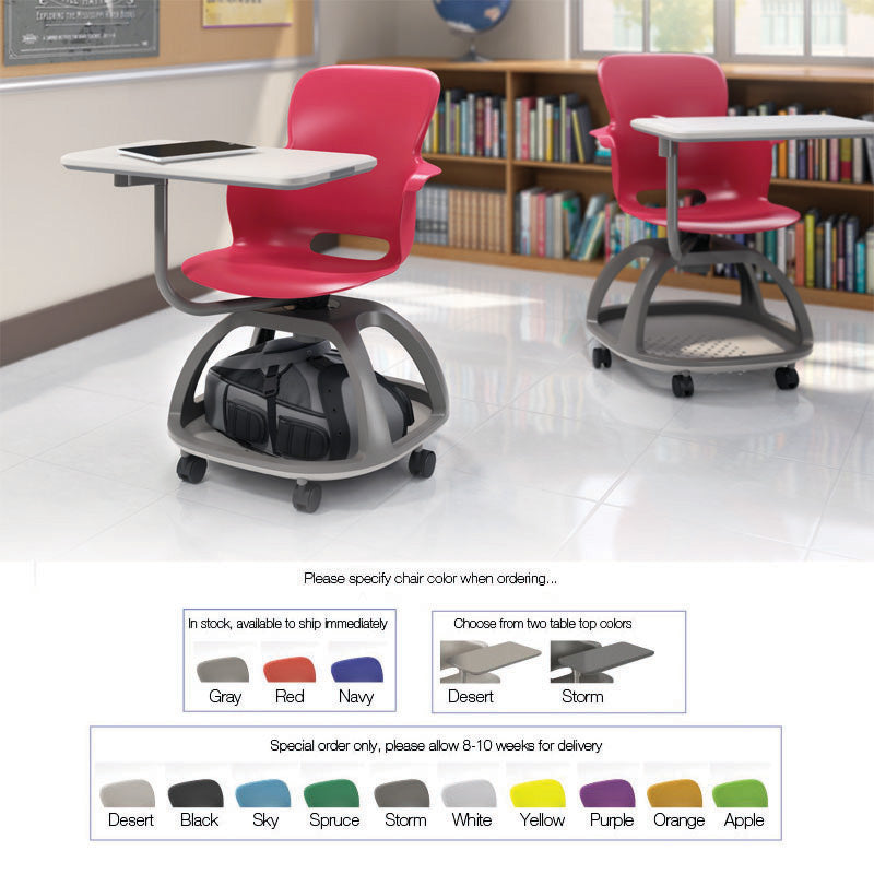 Strange Ethos Chair With Storage Base And Tablet W Cup Holder Download Free Architecture Designs Rallybritishbridgeorg