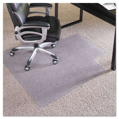 Everlife Chair Mat (for Plush Pile Carpet) Clear