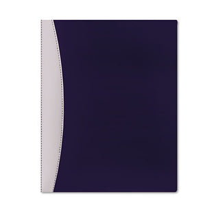 Executive Twin-Pocket Folders, Letter, Each, Blue
