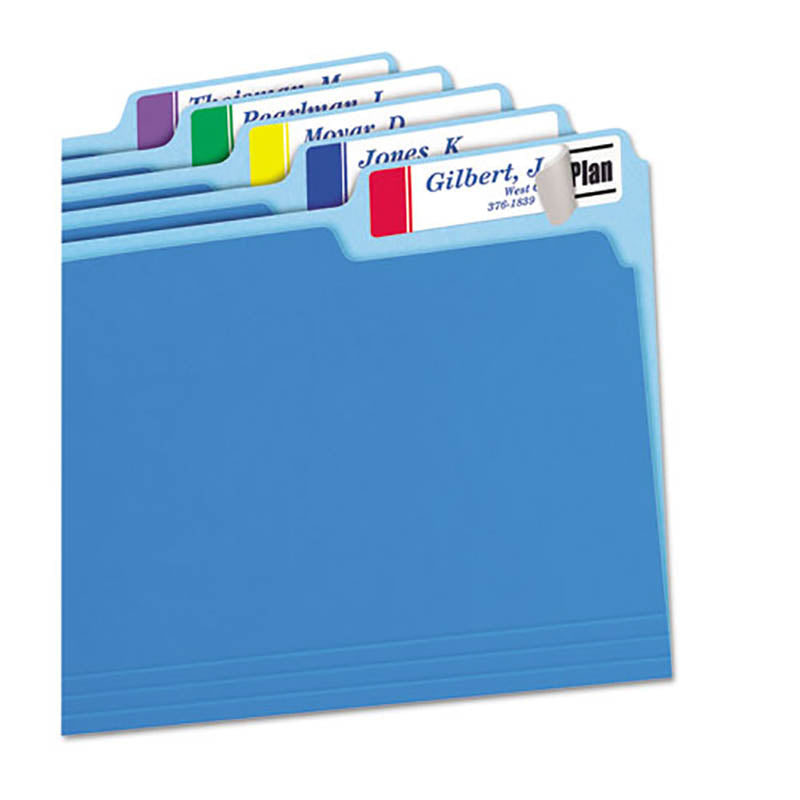 "Extra-Large File Folder Labels w/ TrueBlock, 15/16"" x 3 7/16"" (pack of 450)"