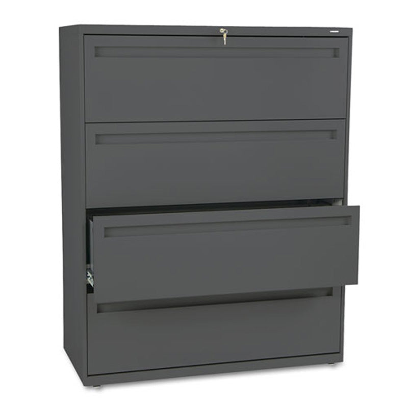 Five Drawer Heavy Duty Lateral File Cabinet W/ Roll Out U0026 Posting