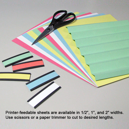 "8 1/2"" x 11"" Flexcards Sheets (set of 10), perforated 1"""
