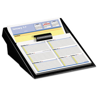 "Flip-A-Week Desk Calendar Refill with Quicknotes, 5 5/8"" X 7"", White, 2021"