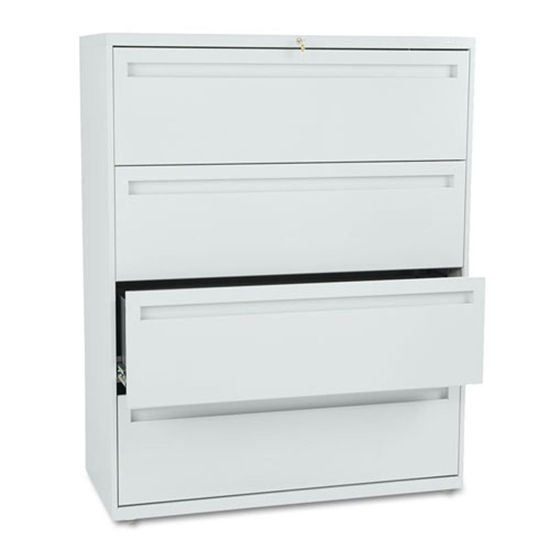 Four-Drawer Heavy-Duty Lateral File Cabinet 42 w x 19 1/  sc 1 st  Ultimate Office & Four Drawer Heavy Duty Lateral File Cabinet 42 | Ultimate Office