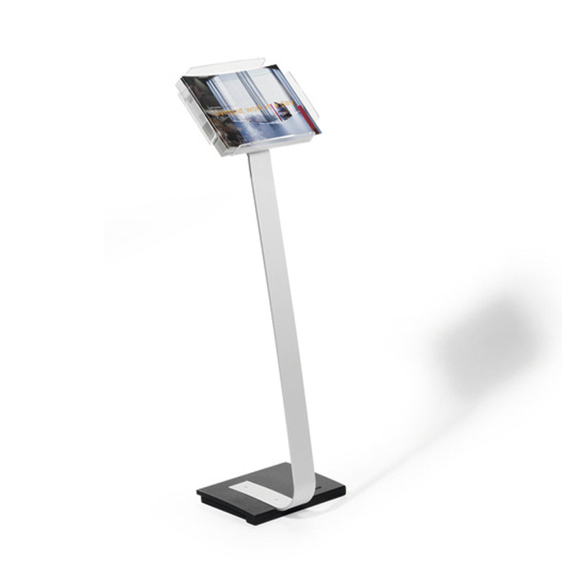 Free-Standing Rotating Literature Holder, Letter Size