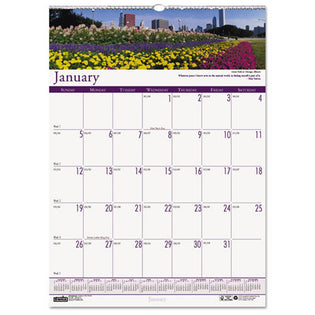 Gardens Of The World Monthly Wall Calendar, 2021