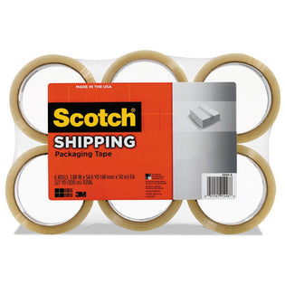 "General Purpose Packaging Tape, 3"" Core, 1.88"" (pack of 6 Rolls)"