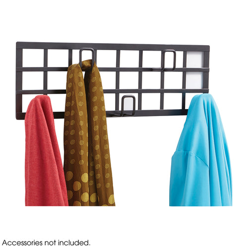 Grid Coat Rack, Black