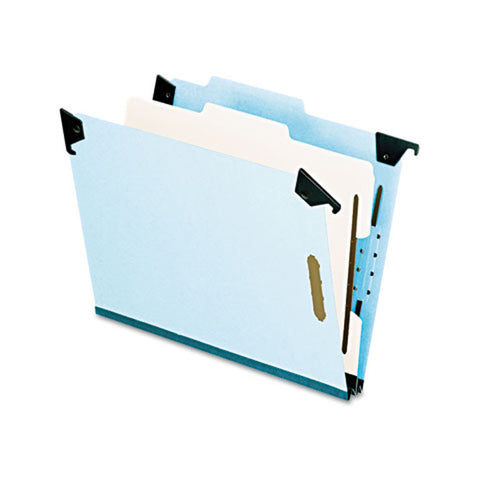 Hanging Classification Folders w/ Swing Hooks & Dividers (each), Lt. Blue