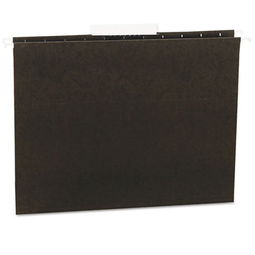 Hanging File Folders (box of 25), Standard Green